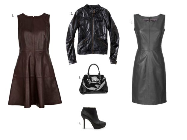 Skórzany look – trendy 2012/13