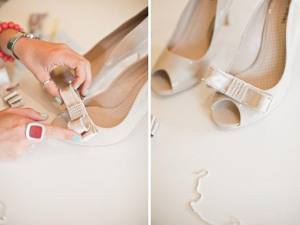 Buty ślubne - zrób je sama!