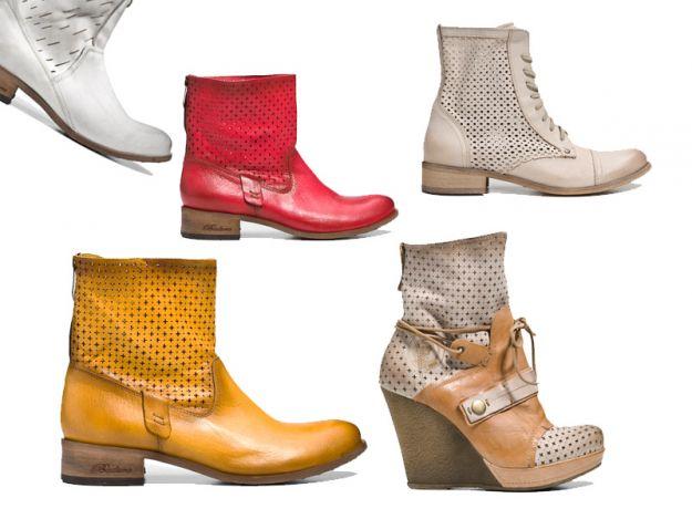 Nowe kolekcje - botki na wiosnę 2013