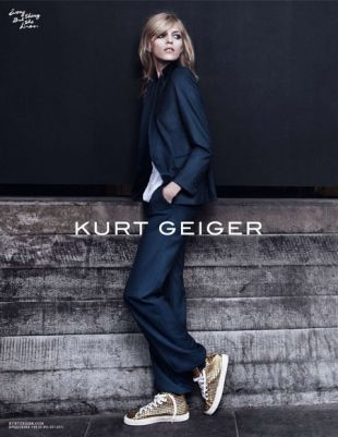 Anja Rubik promuje Kurta Geigera
