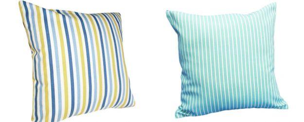 błękitna poduszka