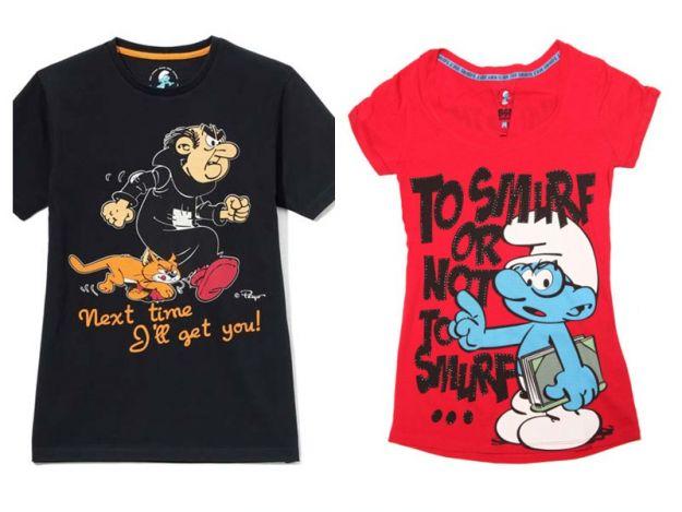 Kultowe t-shirty z bohaterami znanych bajek i filmów