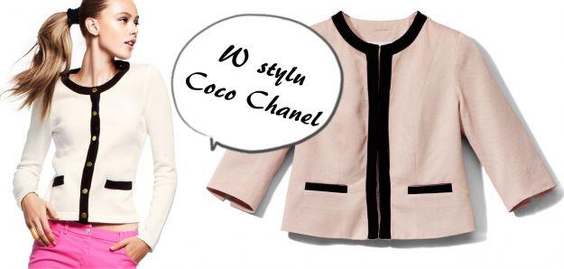 Gasonki a'la Coco Chanel - mikrotrend 2012