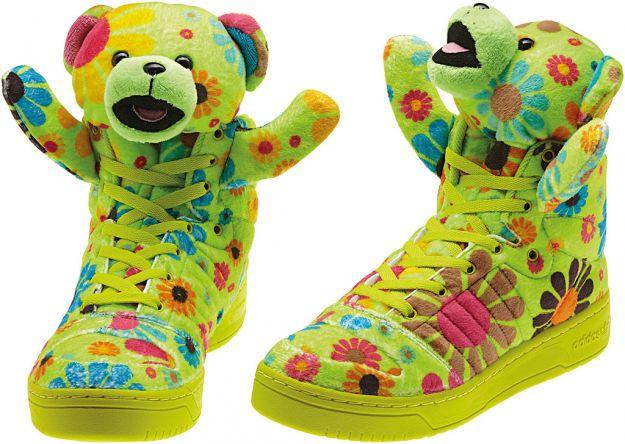 Jeremy Scott - kolorowa kolekcja Adidas Originals na jesień-zimę 2012