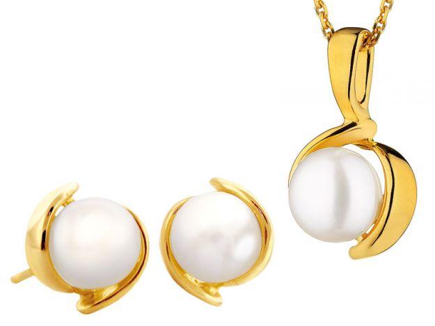 Perłowa biżuteria ślubna w stylu lat 60.