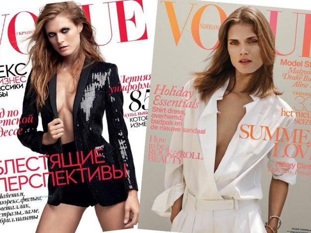 Wow! Polska top modelka aż na 2 lipcowych okładkach Vogue
