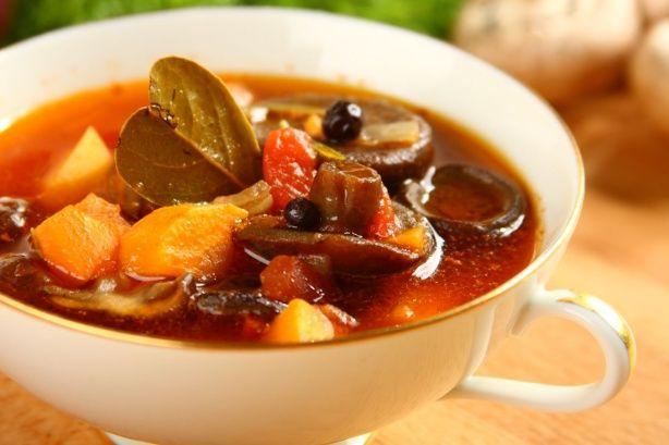 Zypy, sosy i inne dania z grzybów