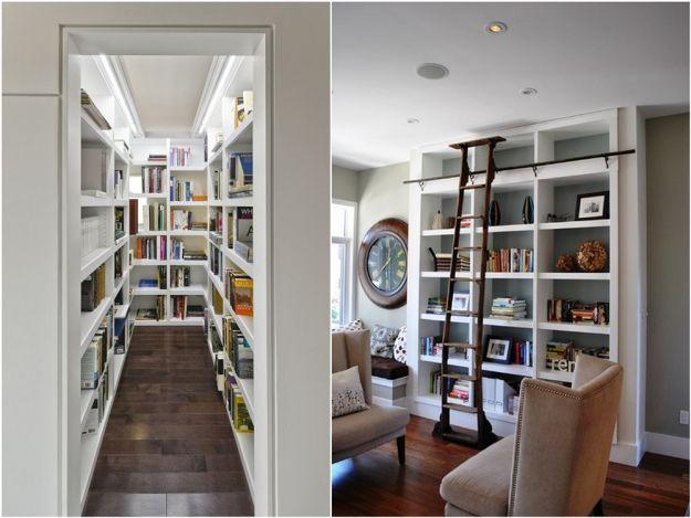 Domowa biblioteczka modnie i z klimatem dom for Biblioteczka w salonie