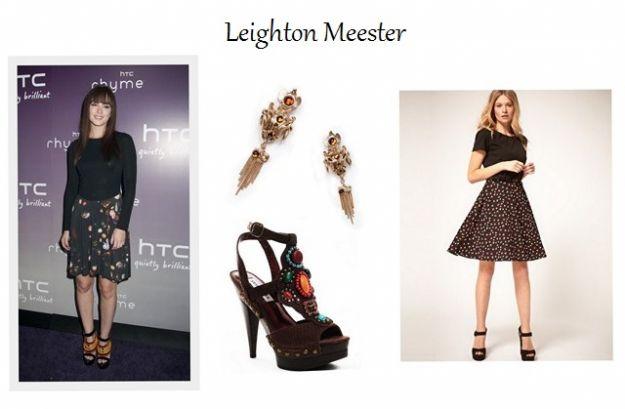 Styl Leighton Meester