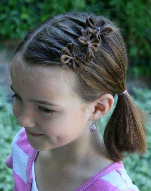 5 uroczych fryzur dla dziewczynek!