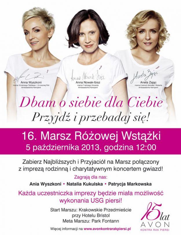 Marsz Różowej Wstążki już 5 października!