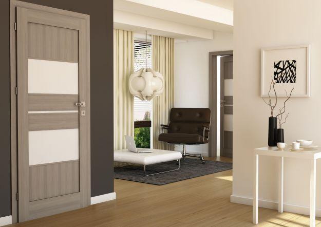Białe wnętrze - klasyczny design