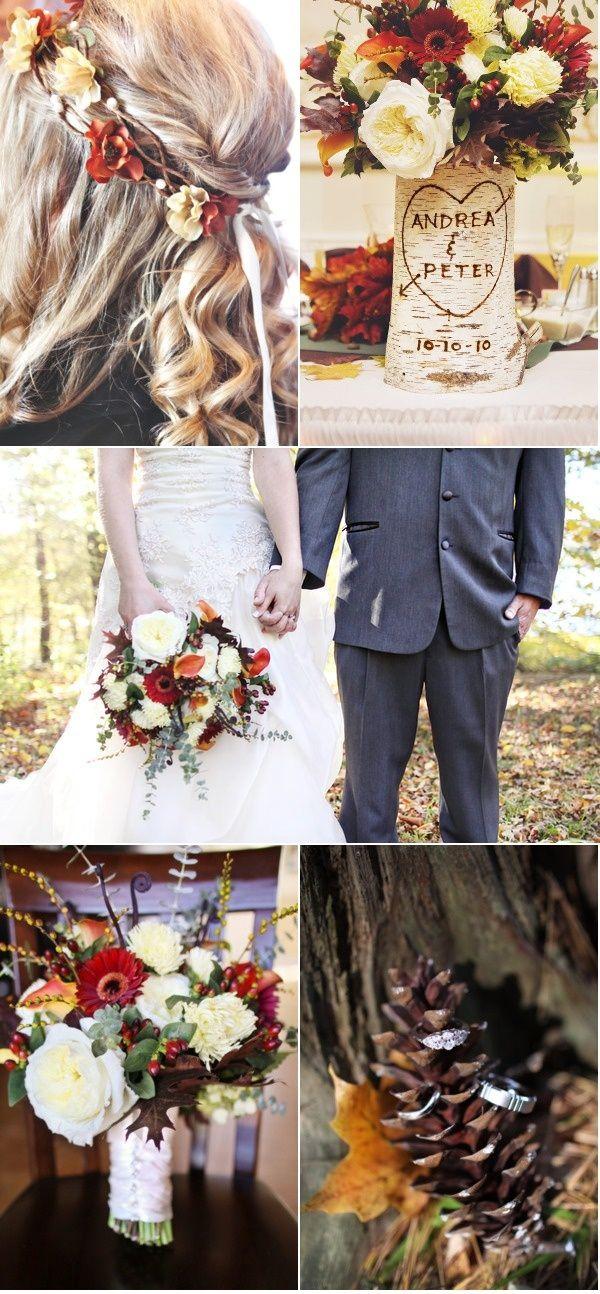 Jesienny ślub i przyjęcie weselne