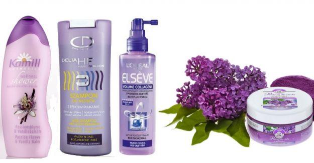 Kosmetyki fioletowe