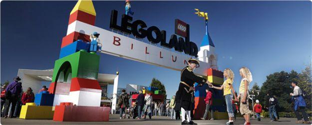 wejście do Legolandu