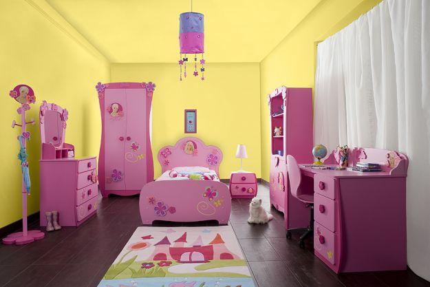 Pokoik w kolorach różu - nie dla chłopczycy