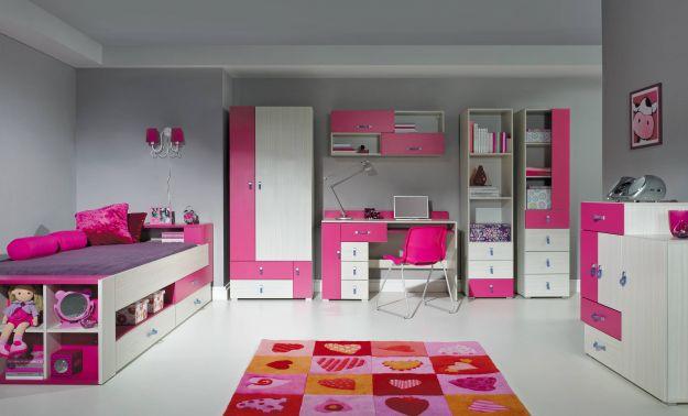 Pokoik nie dla chłopczycy - w kolorach różu