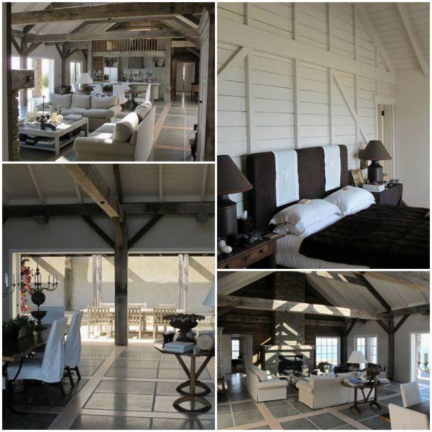 Wyjątkowe domy w wiekowych stodołach