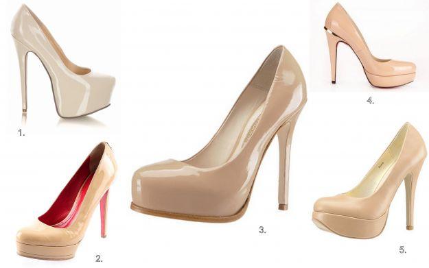 Buty ślubne w kolorze nude