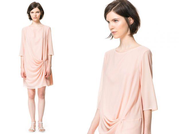 10 sukienek w kolorze pudrowego różu!