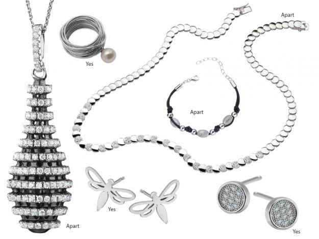 4 rodzaje biżuterii!