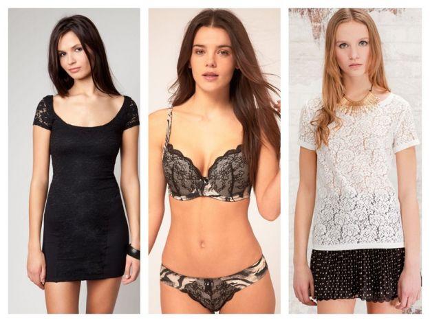 Koronkowe ubrania i dodatki - hit 2012!
