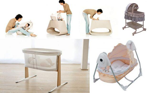 Stylowe kołyski dla niemowląt