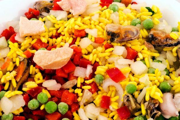 Paella czyli ryż po hiszpańsku