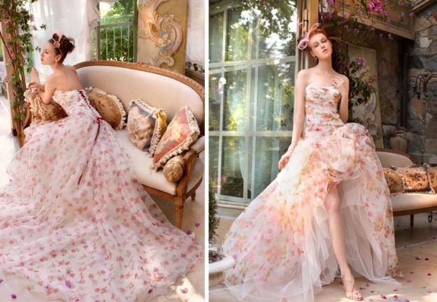 Suknie ślubne - trendy 2013