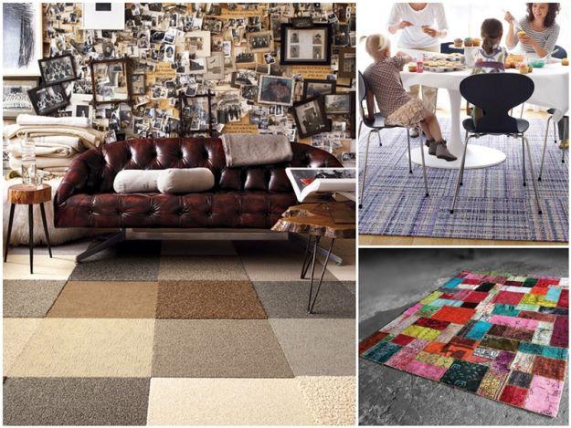 Modny patchwork we wnętrzach