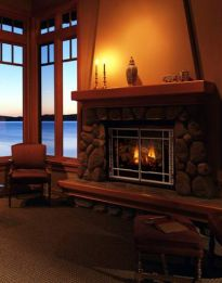 Kominek w domu- klimatyczne ciepło