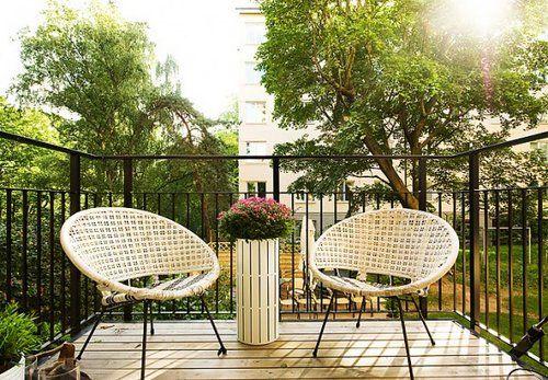 Wiosenne porządki na balkonie