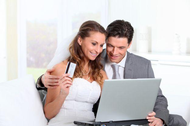 Zakupy ślubne przez Internet