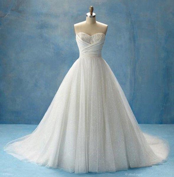 Suknie ślubne Inspirowane Bajkami Disneya Kobiece Pasje Polkipl