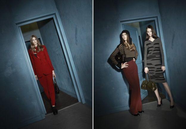 Czerwień i bordo – trendem jesieni 2012!