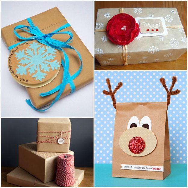 Pomysły na zapakowanie świątecznego prezentu