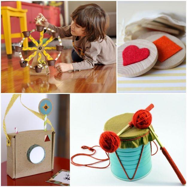 Zabawki, które zrobisz z dzieckiem - 4 super pomysły!