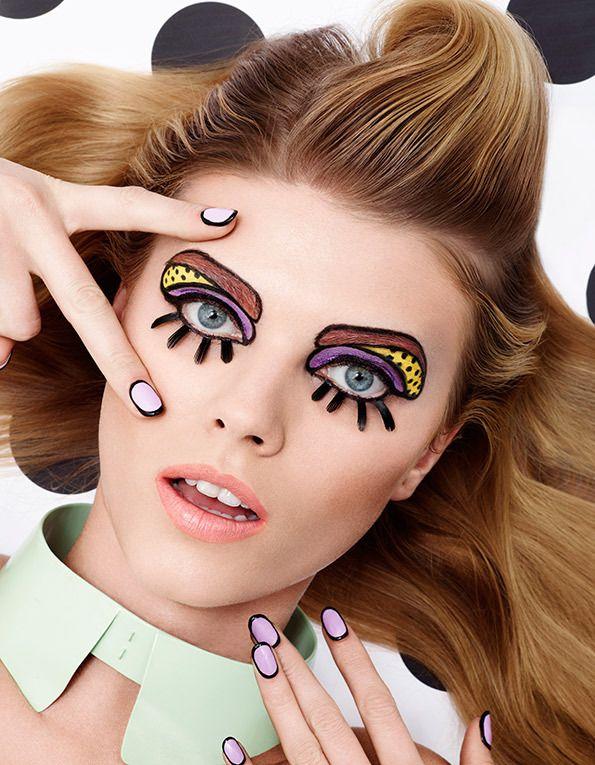 Obrysowane lub kreskówkowe paznokcie – nie tylko na imprezę!