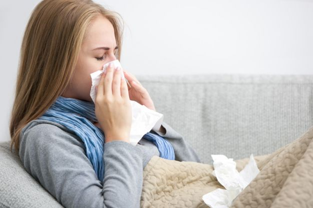 Осенью вы тоже страдаете аллергией!