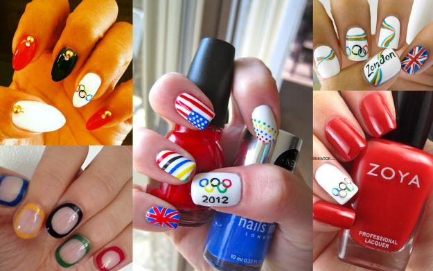 Manicure z logo igrzysk