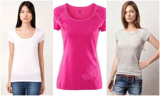 Najmodniejsze t-shirty na lato 2012.