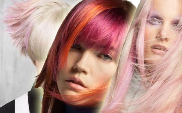 Kolor na głowie - modne fryzury od Goldwell