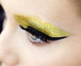 Złoto w makijażu