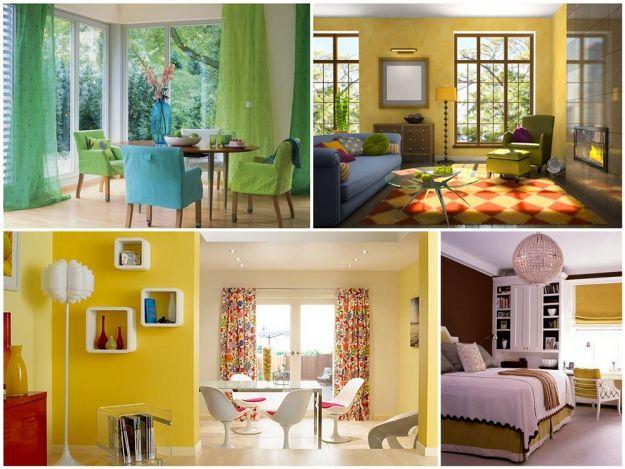 kolor w mieszkaniu na wiosnę