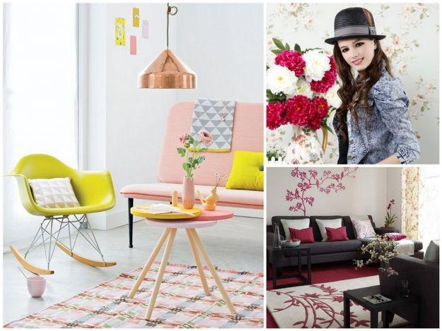 pastelowe kolory w mieszkaniu na wiosnę