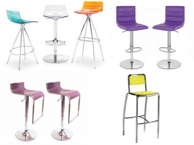 klasyczne krzesła barowe