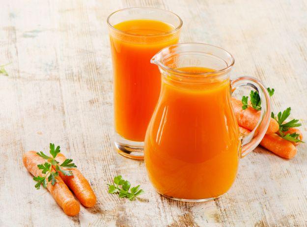 Sok marchwiowy - dla zdrowia i urody