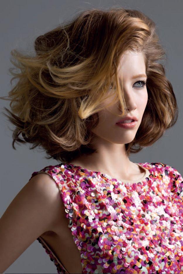 Włosy półdługie - 10 propozycji fryzur!