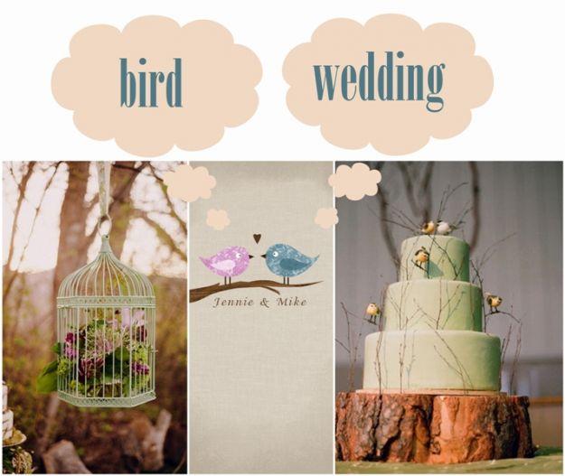 Wiosenne wesele z ptasim motywem
