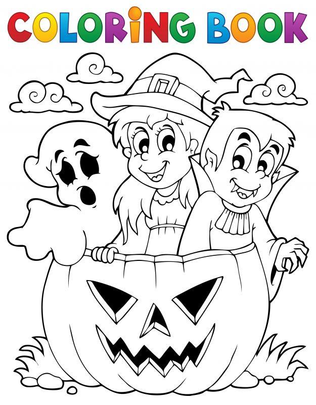 Najlepsze Wybrane Halloween Kolorowanki Dla Dzieci Najlepsze